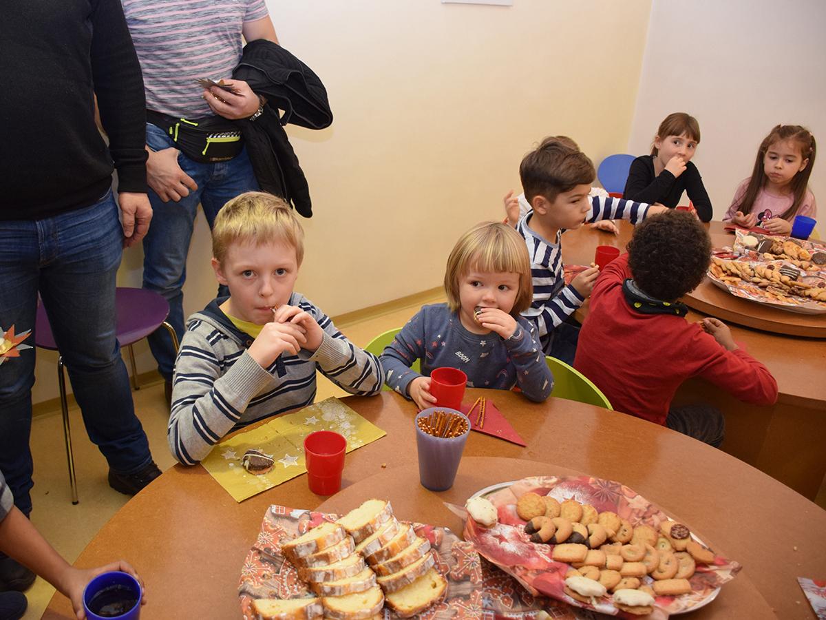 Adventsfeier mit den Eltern   Kindergarten