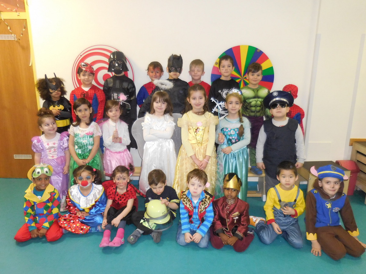 Fasching 2017 Barengruppe Kindergarten